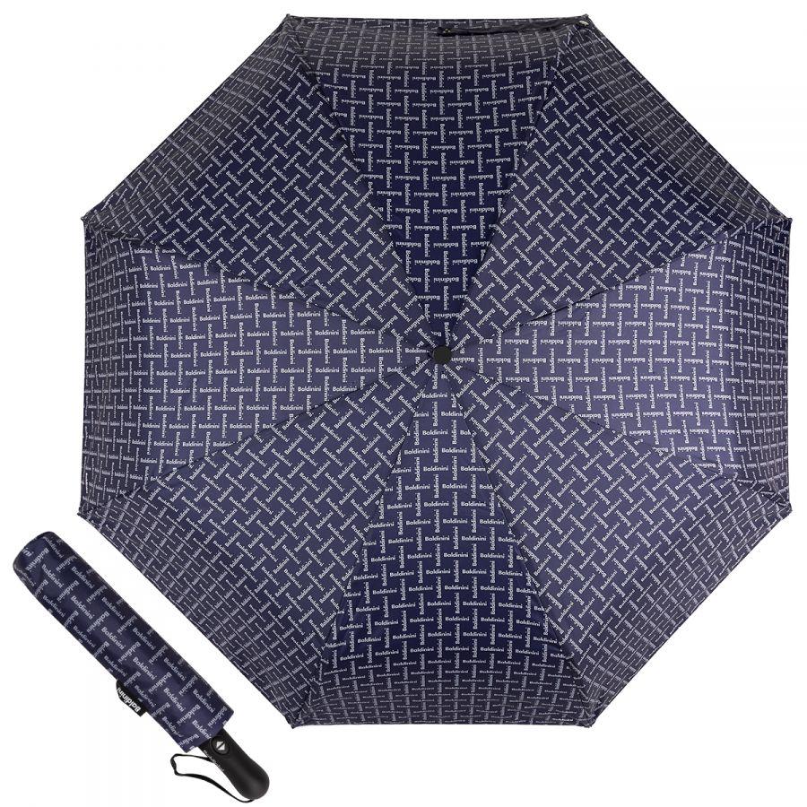 Зонт складной Baldinini 39-OC Logo Dark Blue