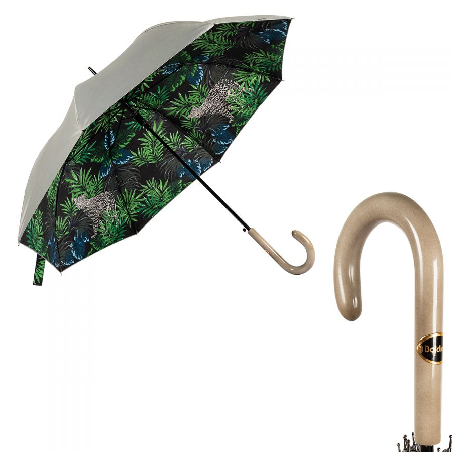 Зонт-трость Baldinini 49-LA Tropic Grigio