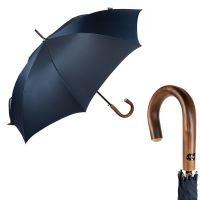 Зонт-трость Bugatti 218357-LA Oxford Blue Legno
