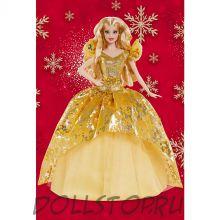 Коллекционная кукла Барби Новогодние праздники 2020 - 2020 Holiday Barbie Doll, Blonde Long Hair