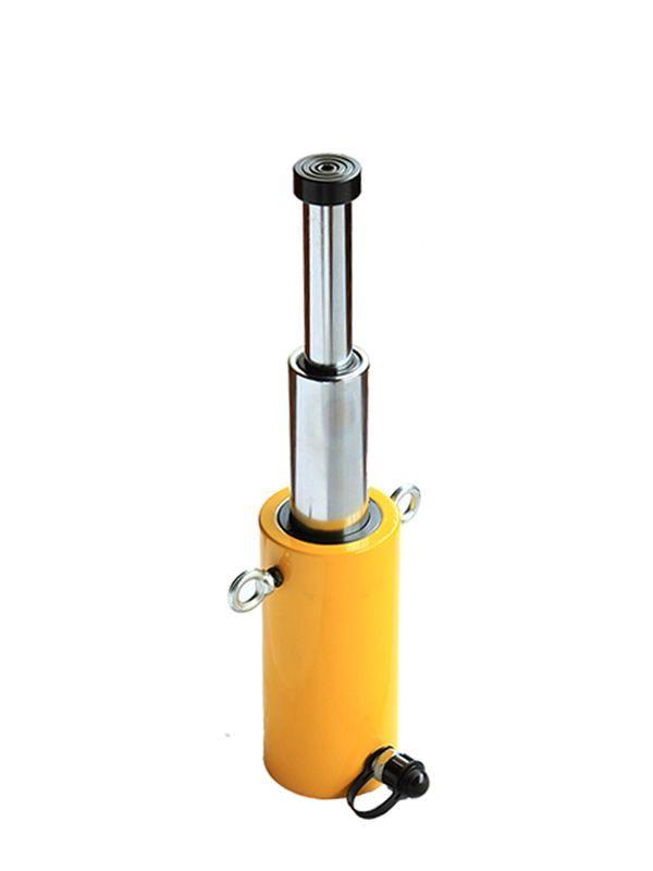 Домкрат гидравлический телескопический  TOR HHYG-30300D (ДТ30Г300) 30 т, 2ур