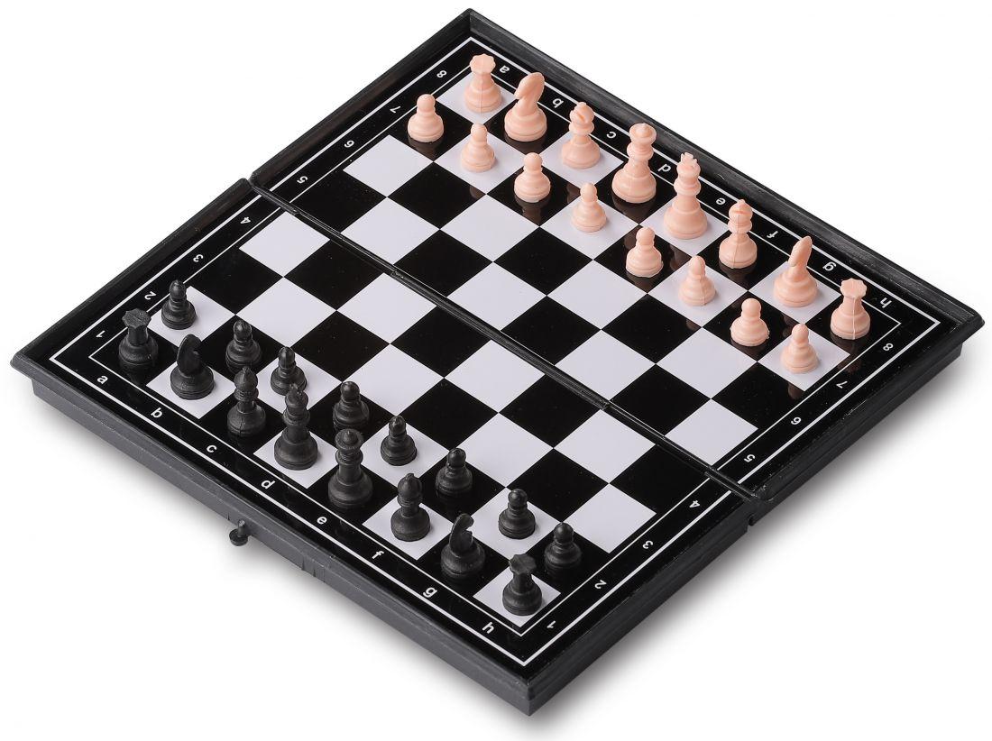 Набор 3 в 1 магнитный 3216 (нарды, шахматы, шашки) 19x19см