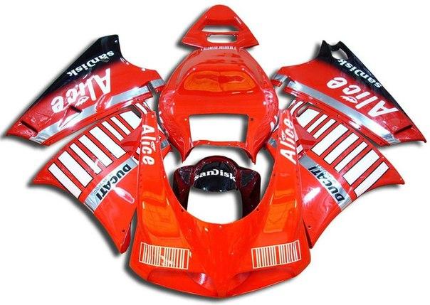 DUCATI 748/916/996/998 1996-2002 Комплект пластика