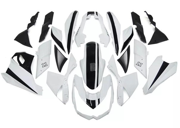 KAWASAKI Z1000 2010-2013 Комплект пластика