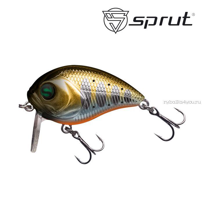 Воблер Sprut Chubby Killer 40F 40 мм / 7,5 гр / Заглубление: 0,1-0,5 м / цвет: GDN1