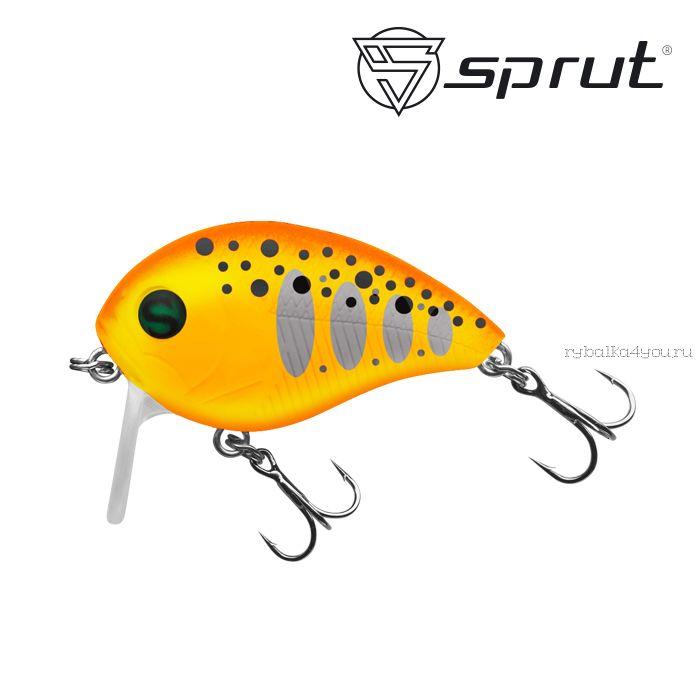 Воблер Sprut Chubby Killer 40F 40 мм / 7,5 гр / Заглубление: 0,1-0,5 м / цвет: OTR