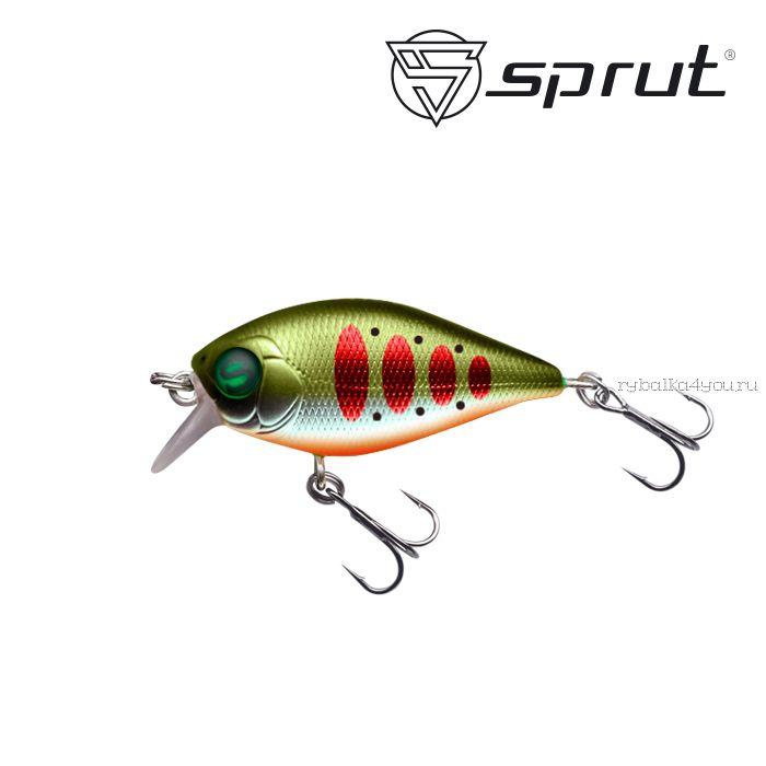 Воблер Sprut Uni Crank 36F 36 мм / 4 гр / Заглубление: 0,3-0,8 м / цвет: SGRTR3