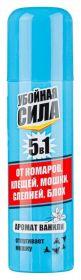 Спрей Убойная Сила 5в1 от клещей, комаров, мошки