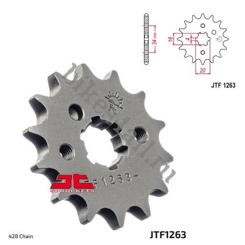 Звезда ведущая JTF1263.13 Yamaha YBR125 04-08 уменьшенная