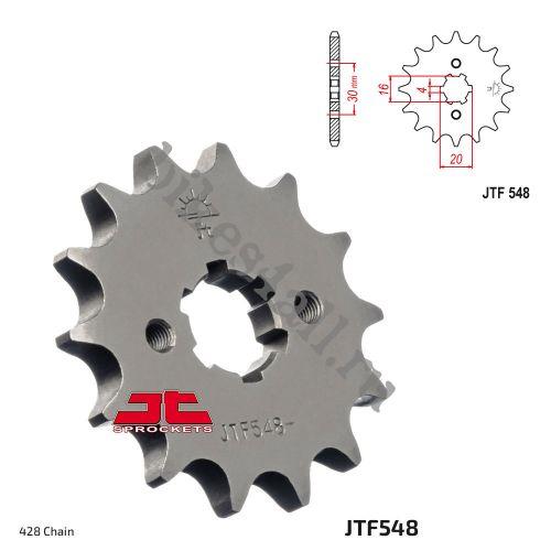 Звезда ведущая JTF548.13 Yamaha YBR125 2009+ уменьшенная
