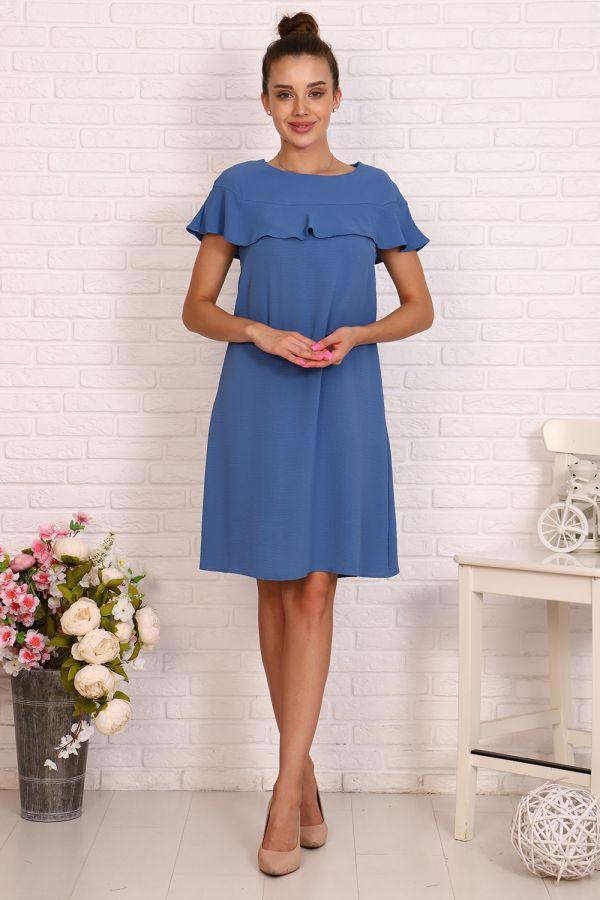 Платье 39504 [синий]