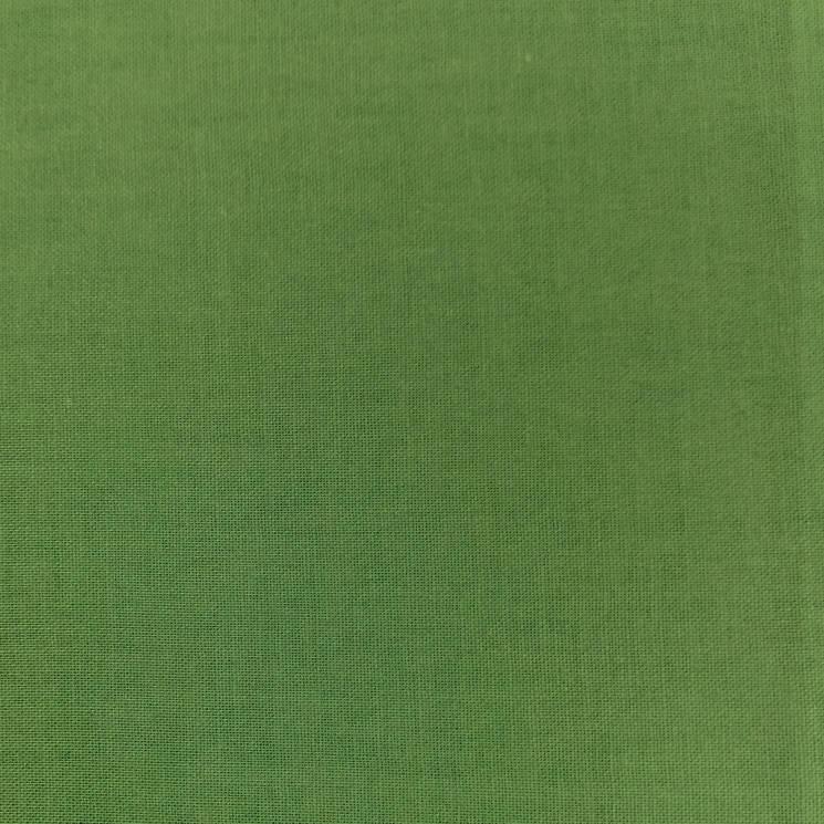 фото Ткань Однотонная Classic Cottons США  отрез 50 см х 55 см 400-400 зеленый