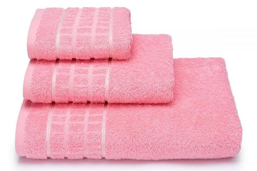 Полотенце махровое Megapolis [розовый]