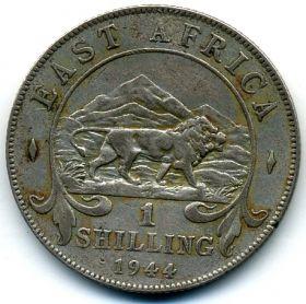 Бр. Восточная Африка 1 шиллинг 1944 H