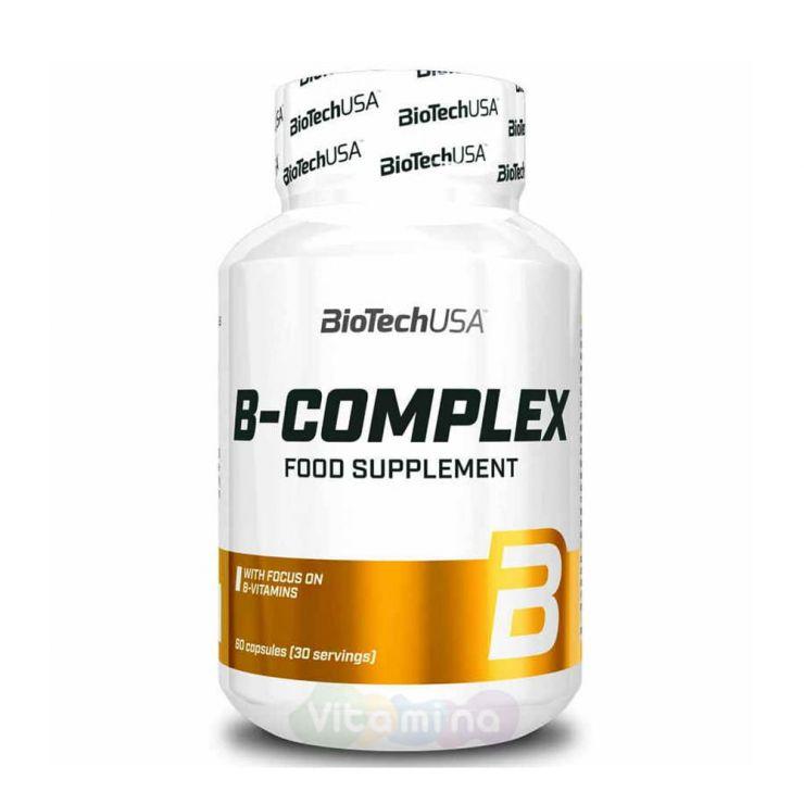 BIOTECHUSA Витамины группы В B-complex, 60 таб.