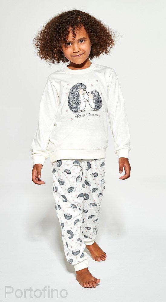 978-142 Пижама для девочек Cornette