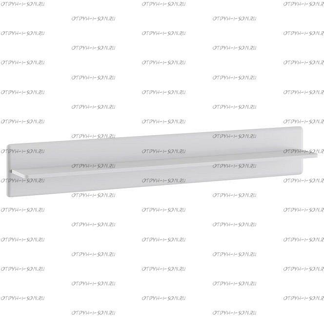 Полка настенная Наоми ТД-208.03.22 Белый глянец