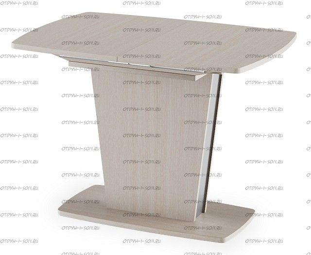 Стол обеденный Ливерпуль Тип 1 Дуб Белфорт/Металлик