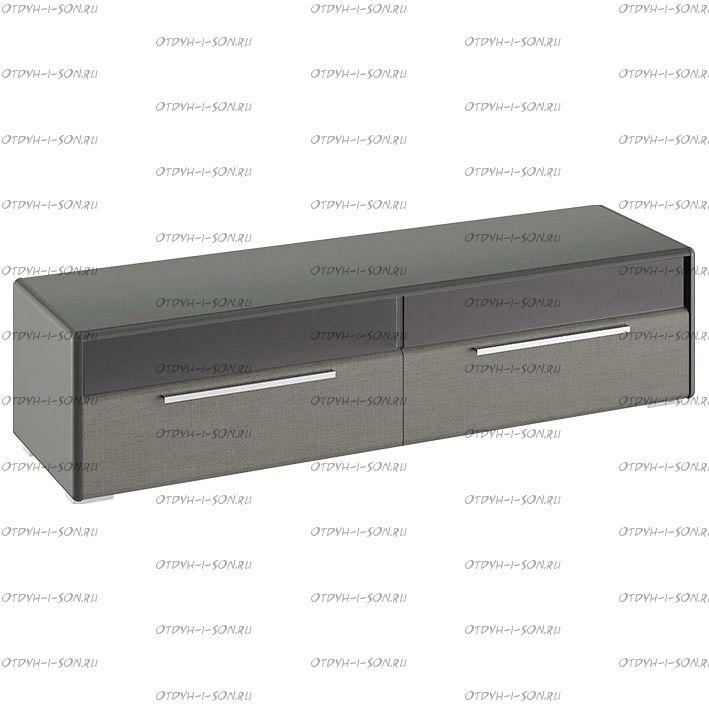 Тумба для ТВ Наоми ТД-208.03.11 Джут, Фон серый