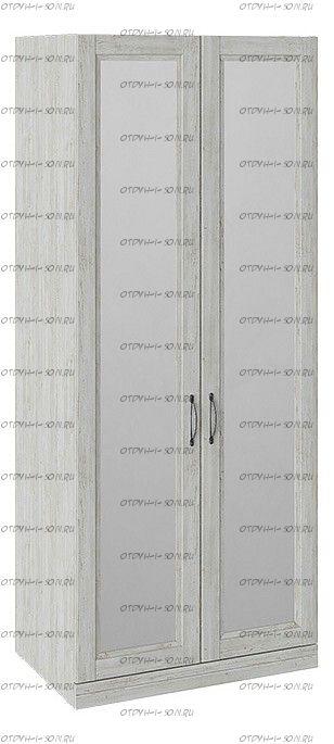 Шкаф для одежды Кантри СМ-308.07.022 с 2 зеркальными дверями Винтерберг