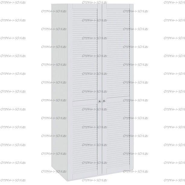 Шкаф для одежды с 2-мя дверями Ривьера СМ 241.07.002 Белый