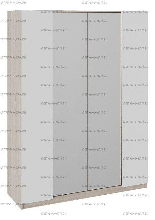 Шкаф комбинированный Валери Дуб Сонома/ Белый ясень