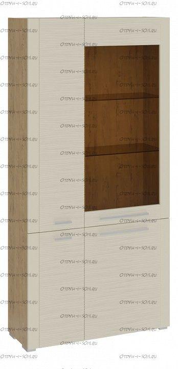 Шкаф комбинированный с 4 дверями Николь ТД-296.07.37 Бунратти/Фон Бежевый