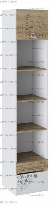 Шкаф многоцелевого назначения Оксфорд ТД-139.07.20 Ривьера/ Белый с рисунком