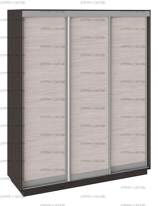 Шкаф-купе 3-х дверный Румер СШК 1.180.60-11.11.11 Венге, Ясень шимо/Ясень шимо