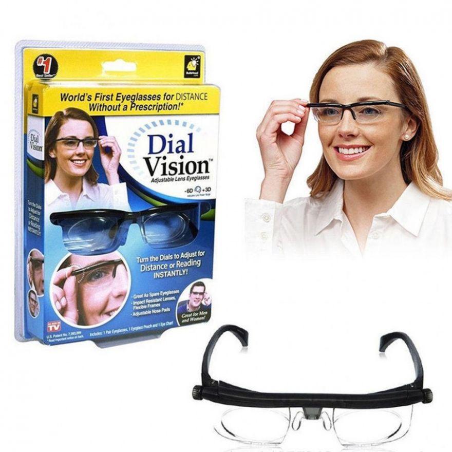 Очки с регулировкой линз Dial Vision (20060)