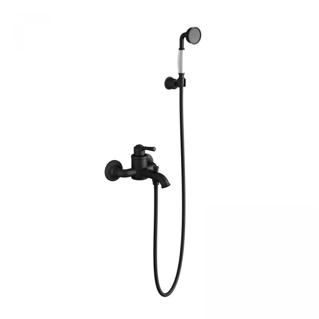 Смеситель для ванны с душем Timo Arisa (5314/03Y) черный