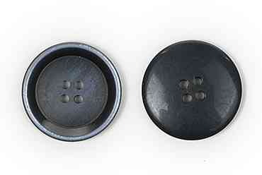 Пуговицы костюмные пластик 4 прокола цвет 01 темно-синий диаметры 15 мм и 20 мм (CX K-67)
