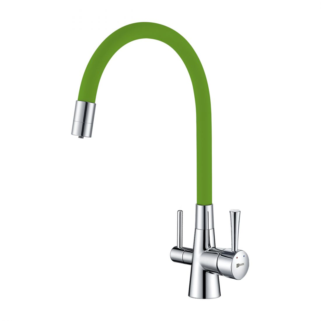 Смеситель Lemark Comfort (LM3075C-Green) для кухни  с подключением к фильтру с питьевой водой