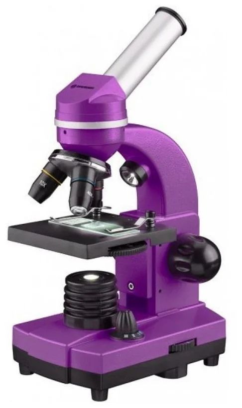 Микроскоп Bresser Junior Biolux SEL 40–1600x Фиолетовый (74321)
