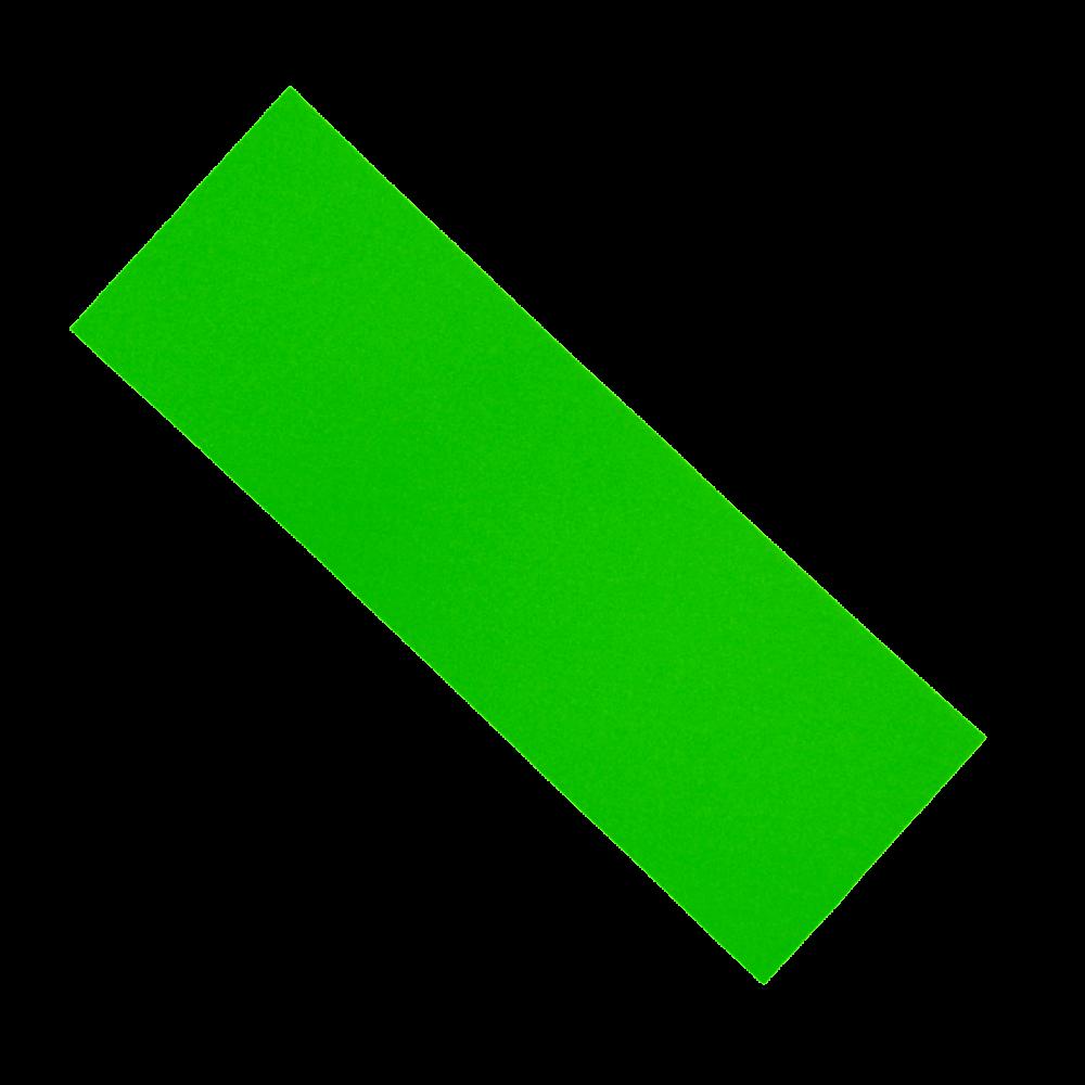 Шкурка для самоката неон зеленая 14*40 см