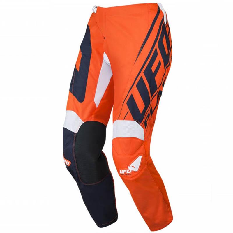 UFO Vanadium Pants Blue/Neon Orange штаны для мотокросса и эндуро, оранжевые-синие