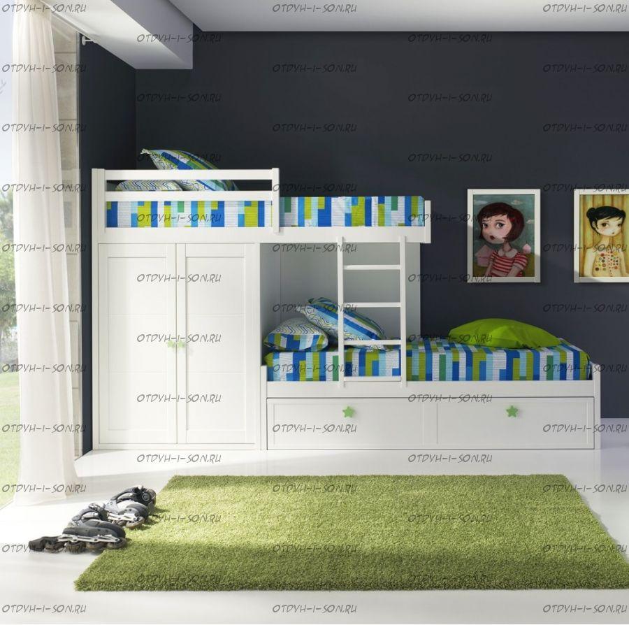 Кровать двухъярусная Дельта Классика №IR0120