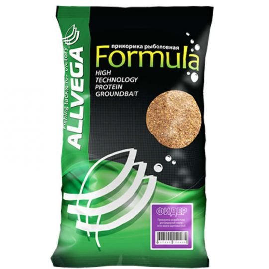 "Прикормка ALLVEGA ""Formula Feeder"" 0,9 кг (ФИДЕР)"