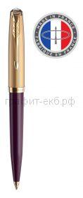 Ручка шариковая Parker 51 Premium Plum GT 2123518