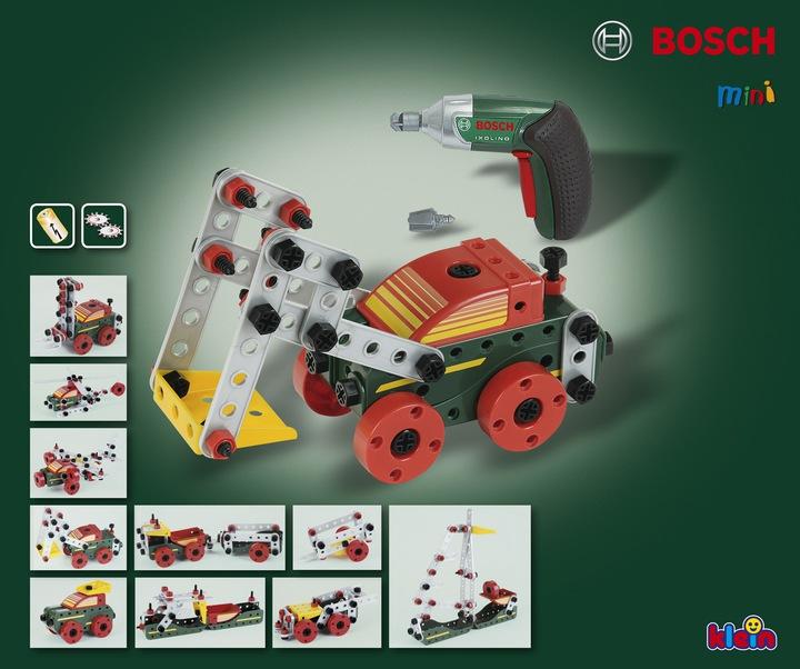 Конструктор Klein Bosch Mini 8497 Сборка автомобилей