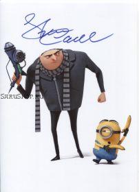 Автограф: Стив Карелл. Гадкий я