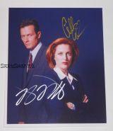 Автографы: Роберт Патрик, Джиллиан Андерсон. Секретные материалы / The X Files