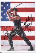 Автограф: Майкл Дудикофф. Американский ниндзя