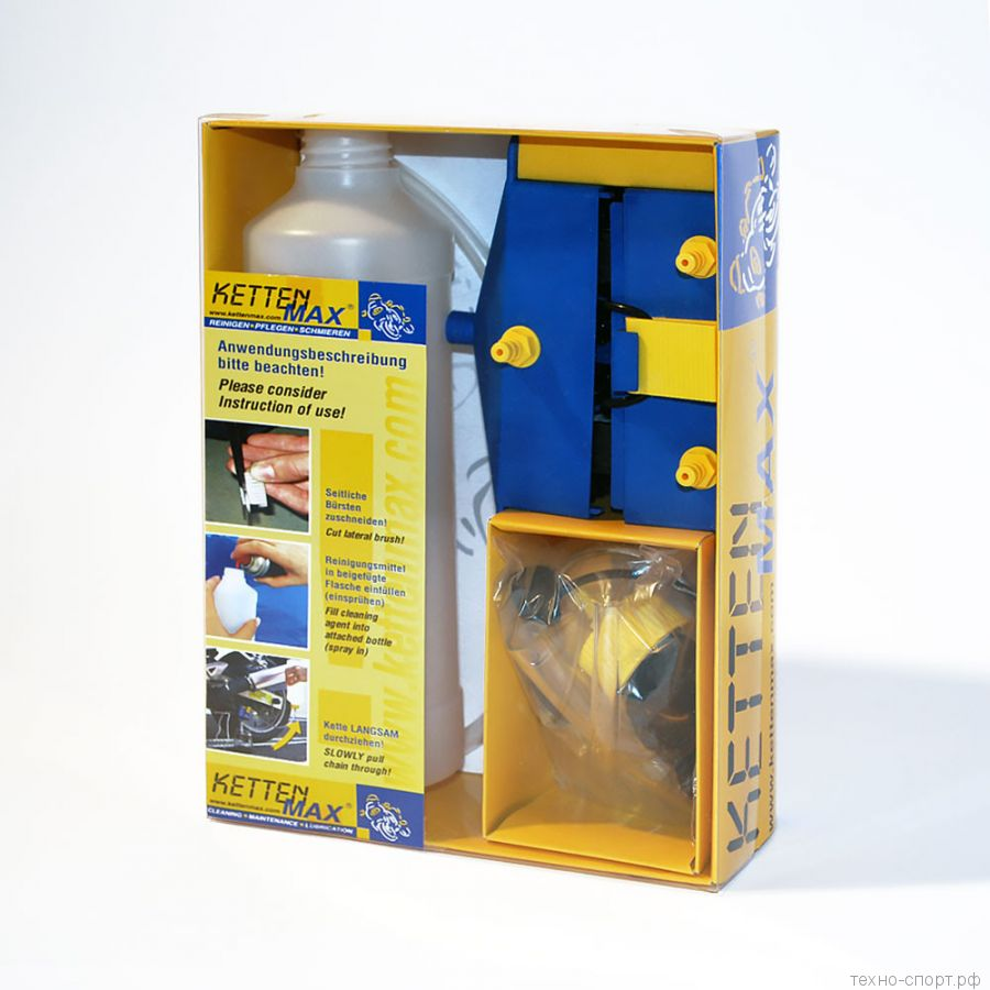 Набор для очистки и смазки цепи KettenMax Classic