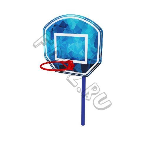 Стойка баскетбольная мини                                           950х1330х2100