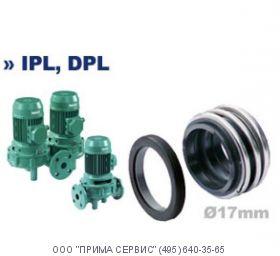Торцевое уплотнение насоса Wilo VeroTwin-DPL / DPL40/115-0,55/2