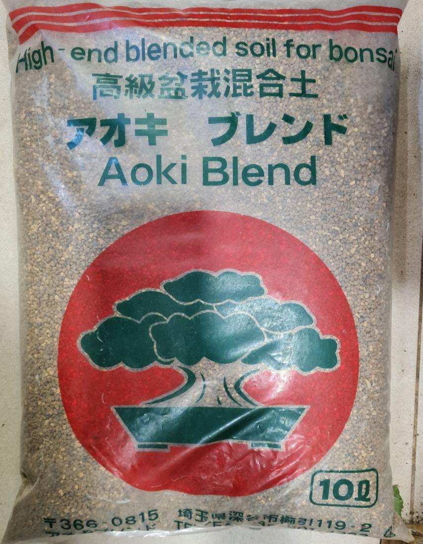 Грунт для бонсай Aoki Blend фракция 0.5 -0,6 см (ручная фасовка) 250г Япония