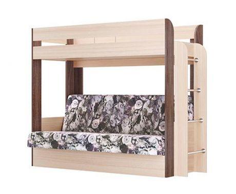 Кровать двухъярусная Немо (без верхнего матраса)