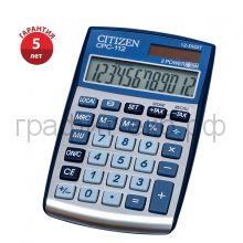 Калькулятор Citizen CPC-1112BLWB синий 12р.