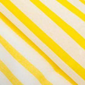 "Бумага тишью ""Желтая полоска"", 50 х 66 см"